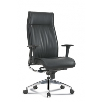 Alto High Back Executive Black Leather* Chair