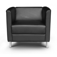 Cosmo Leather* Lounge chair