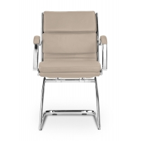 Livello Guest Chair - Sand Leather*