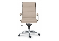 Livello High Back Executive Sand Leather* Chair