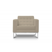 Piazza Sand Leather* Lounge Chair