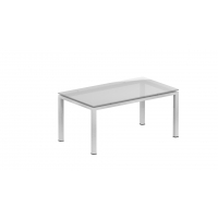 Coffee table – Clear glass top