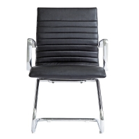 Zetti Visitor Black Leather* Chair